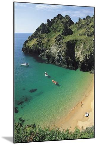 Devon Coast, England, United Kingdom-Duncan Maxwell-Mounted Photographic Print
