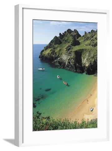 Devon Coast, England, United Kingdom-Duncan Maxwell-Framed Art Print