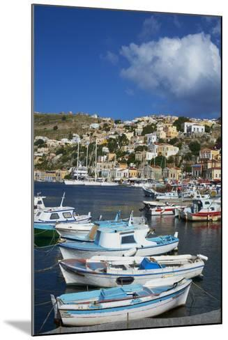Gialos Harbour, Symi Island, Dodecanese, Greek Islands, Greece, Europe-Tuul-Mounted Photographic Print
