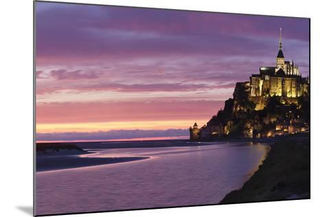 Mont Saint Michel, UNESCO World Heritage Site, Manche, Basse Normandy, France, Europe-Markus Lange-Mounted Photographic Print