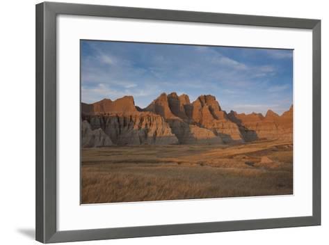 Badlands National Park, South Dakota, United States of America, North America-Michael Runkel-Framed Art Print