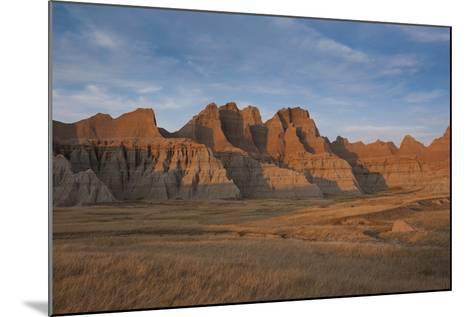Badlands National Park, South Dakota, United States of America, North America-Michael Runkel-Mounted Photographic Print