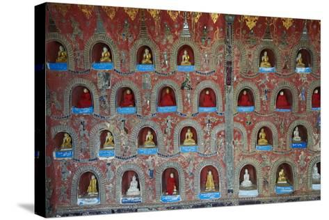 Shweyanpyay Monastery, Inle Lake, Shan State, Myanmar (Burma), Asia-Tuul-Stretched Canvas Print