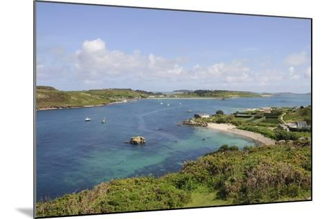 Looking over Towards Tresco from Bryher, Isles of Scilly, Cornwall, United Kingdom, Europe-Robert Harding-Mounted Photographic Print