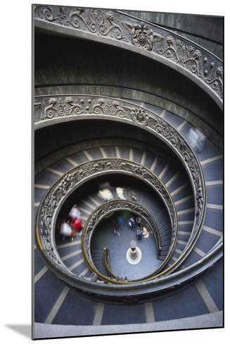Spiral Staircase, Vatican Musuem, Rome, Italy-Adam Woolfitt-Mounted Photographic Print