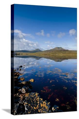 Craggy Seascape of Loch Dunvegan on the Isle of Skye-Charles Bowman-Stretched Canvas Print