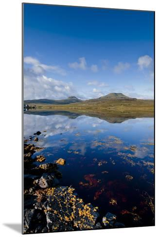 Craggy Seascape of Loch Dunvegan on the Isle of Skye-Charles Bowman-Mounted Photographic Print