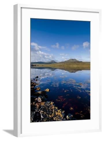 Craggy Seascape of Loch Dunvegan on the Isle of Skye-Charles Bowman-Framed Art Print