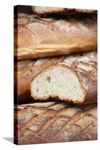 Bread, Provins, Seine Et Marne, France, Europe-Godong-Stretched Canvas Print