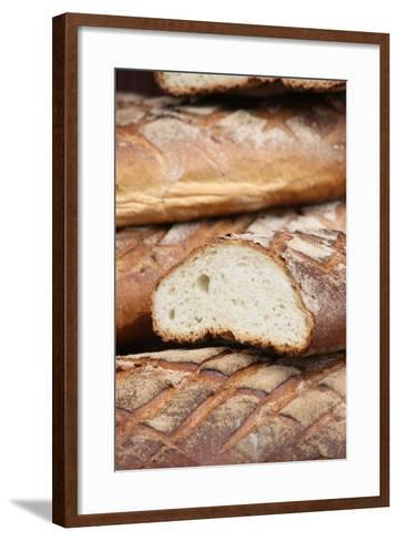 Bread, Provins, Seine Et Marne, France, Europe-Godong-Framed Art Print