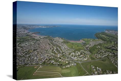 Paignton Bay with Torquay in the Background, Devon, England, United Kingdom, Europe-Dan Burton-Stretched Canvas Print