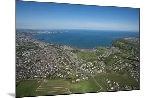 Paignton Bay with Torquay in the Background, Devon, England, United Kingdom, Europe-Dan Burton-Mounted Photographic Print