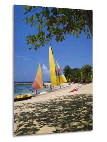 Soufriere, St Lucia, Caribbean-Robert Harding-Metal Print