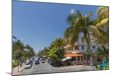 Ocean Drive, Miami Beach, Florida, United States of America, North America-Angelo Cavalli-Mounted Photographic Print