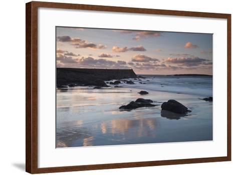 Sennen Cove, Cornwall, England, United Kingdom, Europe-Ben Pipe-Framed Art Print