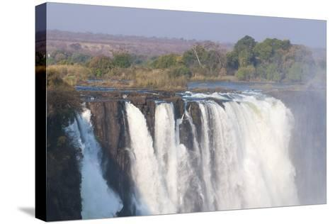 Victoria Falls, UNESCO World Heritage Site, Zimbabwe, Africa-Sergio Pitamitz-Stretched Canvas Print