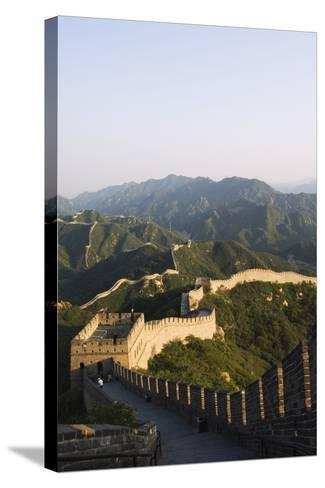 Great Wall of China at Badaling-Christian Kober-Stretched Canvas Print