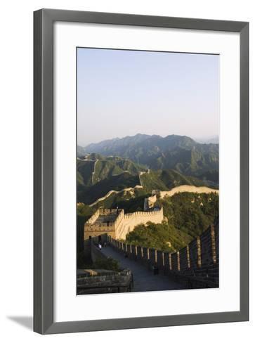 Great Wall of China at Badaling-Christian Kober-Framed Art Print