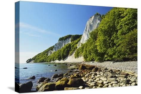 Koenigsstuhl, Chalk Cliffs, Jasmund National Park-Jochen Schlenker-Stretched Canvas Print