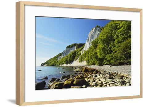 Koenigsstuhl, Chalk Cliffs, Jasmund National Park-Jochen Schlenker-Framed Art Print