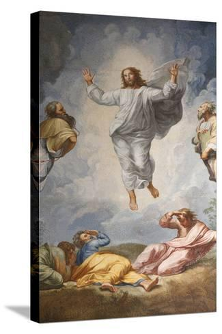 Raphael's Oil Painting of the Resurrection of Jesus Altar of the Transfiguration Altarpiece-Godong-Stretched Canvas Print