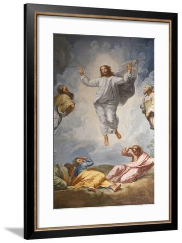 Raphael's Oil Painting of the Resurrection of Jesus Altar of the Transfiguration Altarpiece-Godong-Framed Art Print