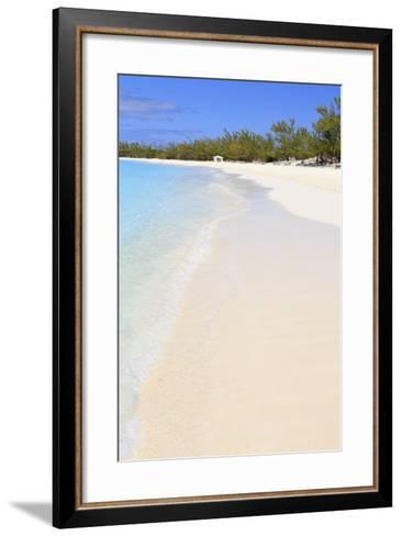 Half Moon Cay, Little San Salvador Island, Bahamas, West Indies, Central America-Richard Cummins-Framed Art Print