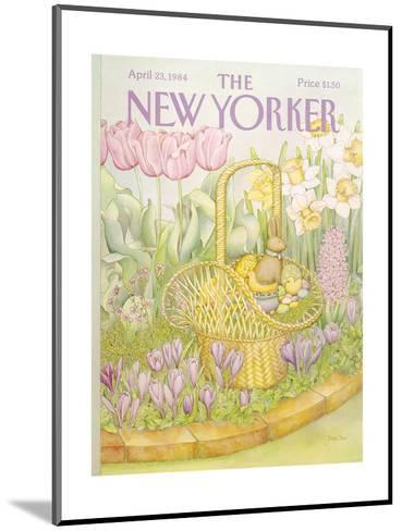 The New Yorker Cover - April 23, 1984-Jenni Oliver-Mounted Premium Giclee Print