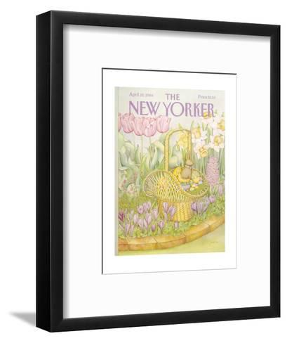 The New Yorker Cover - April 23, 1984-Jenni Oliver-Framed Art Print