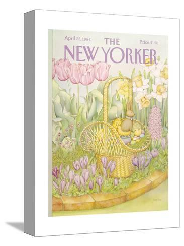 The New Yorker Cover - April 23, 1984-Jenni Oliver-Stretched Canvas Print