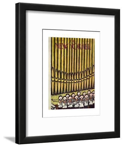 The New Yorker Cover - December 22, 1956-Abe Birnbaum-Framed Art Print