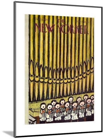 The New Yorker Cover - December 22, 1956-Abe Birnbaum-Mounted Premium Giclee Print