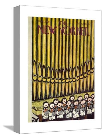 The New Yorker Cover - December 22, 1956-Abe Birnbaum-Stretched Canvas Print