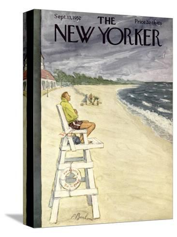 The New Yorker Cover - September 13, 1952-Perry Barlow-Stretched Canvas Print