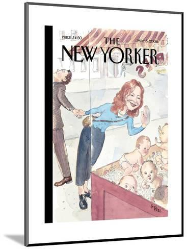 The New Yorker Cover - May 5, 2008-Barry Blitt-Mounted Premium Giclee Print