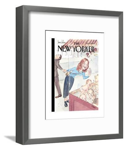 The New Yorker Cover - May 5, 2008-Barry Blitt-Framed Art Print