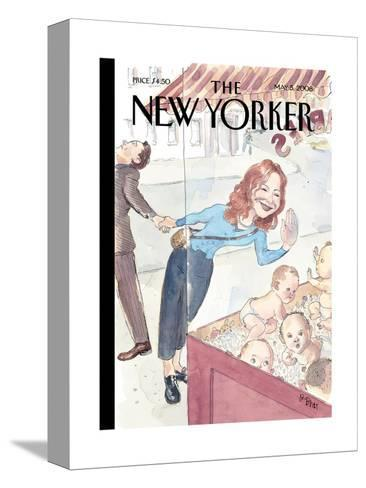 The New Yorker Cover - May 5, 2008-Barry Blitt-Stretched Canvas Print