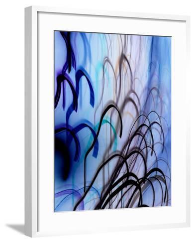 Ces Hommes-Blew-Framed Art Print