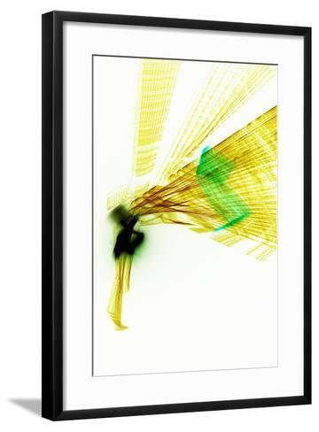 Shout Desire-Blew-Framed Art Print
