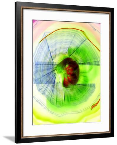 Defunk-Blew-Framed Art Print