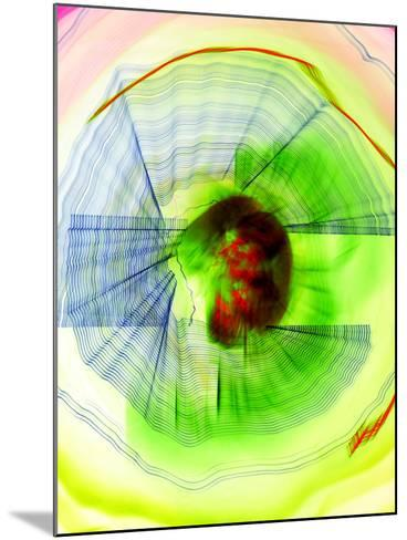 Defunk-Blew-Mounted Photographic Print