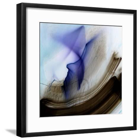 Questioning-Blew-Framed Art Print