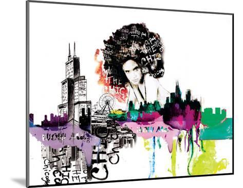 Girl in Chicago-Nicole Quattrocki-Mounted Giclee Print