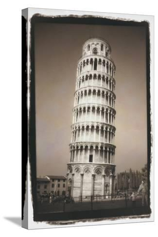Leaning Tower of Pisa-Theo Westenberger-Stretched Canvas Print