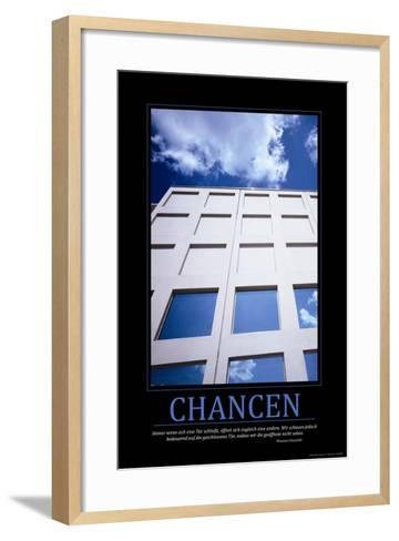 Chancen (German Translation)--Framed Art Print