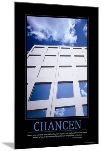 Chancen (German Translation)--Mounted Photo