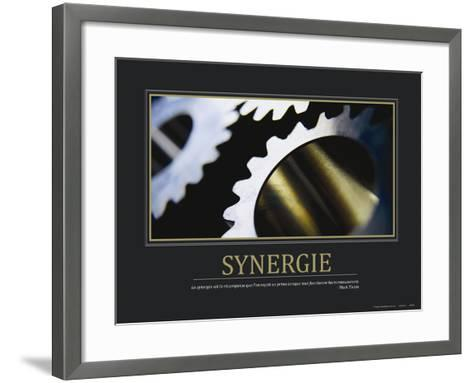 Synergie (French Translation)--Framed Art Print