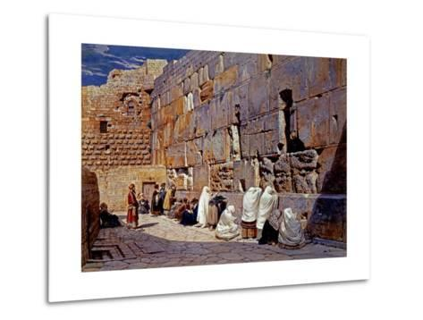 The Wailing Wall, Jerusalem, Israel-Carl Werner-Metal Print