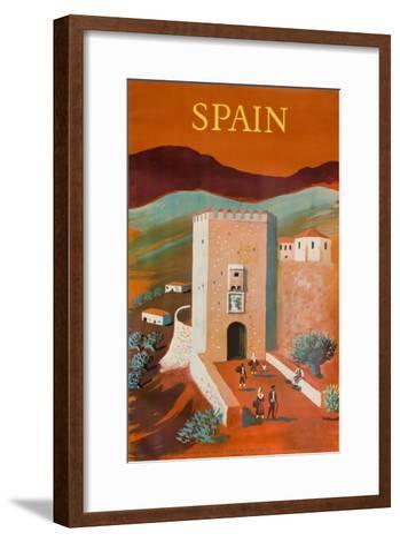 Spain Poster-Bernard Villemot-Framed Art Print