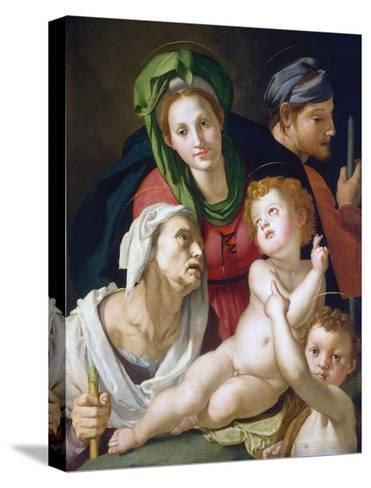 The Holy Family--Stretched Canvas Print